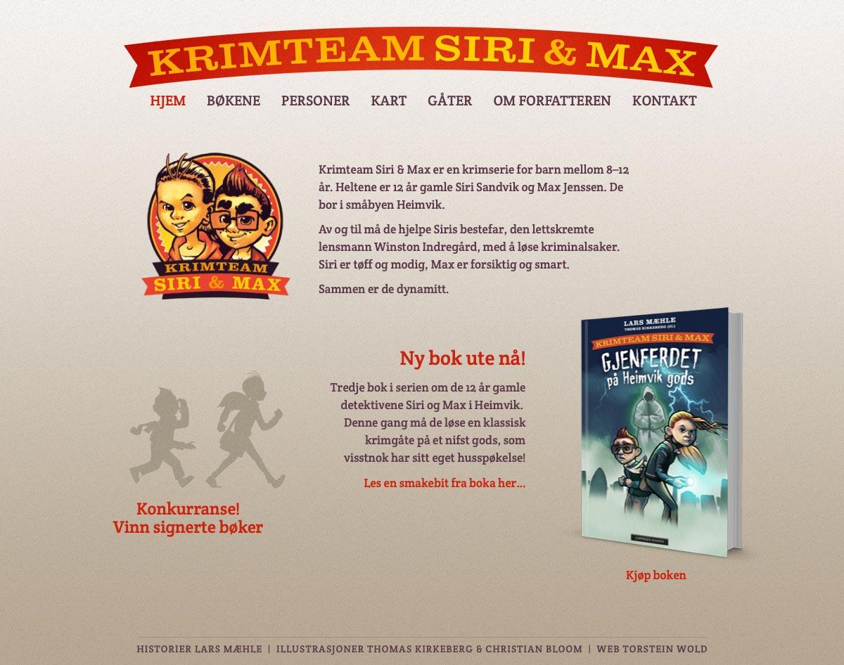 Krimteam Siri & Max